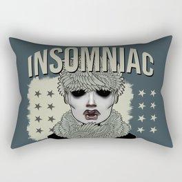 Insomniac Rectangular Pillow