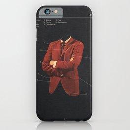 Manhood iPhone Case