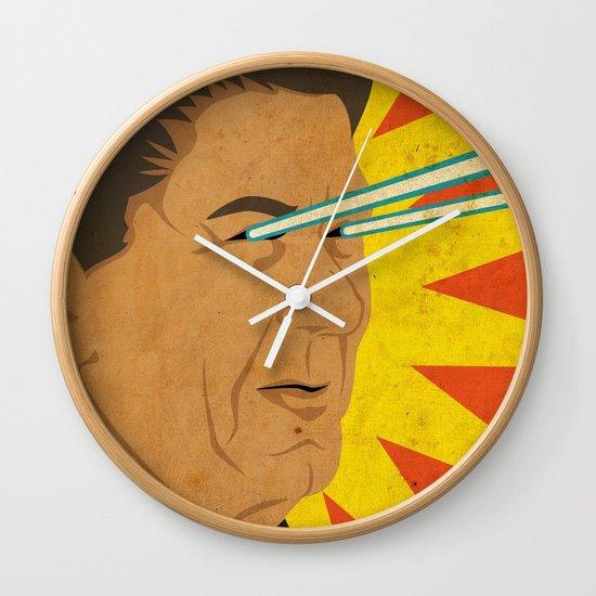 Ronald Raygun Wall Clock