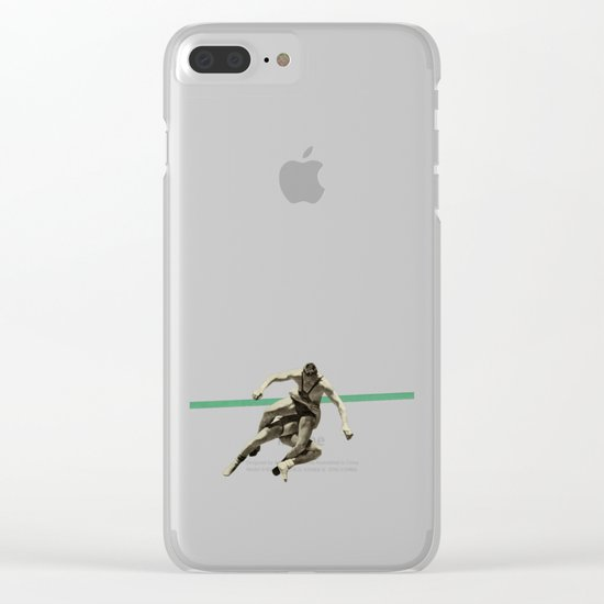 The Wrestler Clear iPhone Case