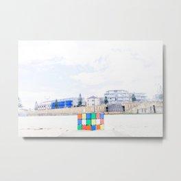 The Cube at Maroubra Beach Metal Print