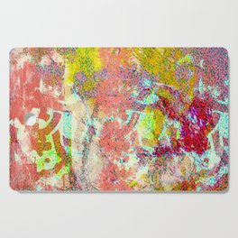 Living Coral abstract Cutting Board
