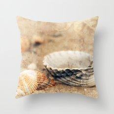 Shells Throw Pillow