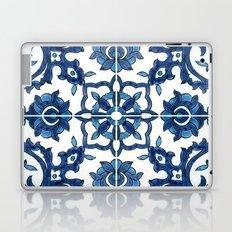 Blue Tile Laptop & iPad Skin
