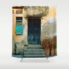 VIETNAMESE FACADE - HOI AN Shower Curtain