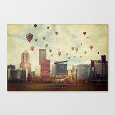 Portland Oregon Whimsy Canvas Print