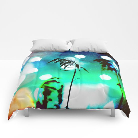 Blue Grass Drama Sparkle Comforters