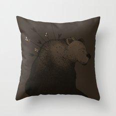 I'm Fine Throw Pillow