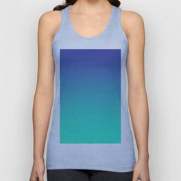 LUSH COVE - Minimal Plain Soft Mood Color Blend Prints Unisex Tank Top