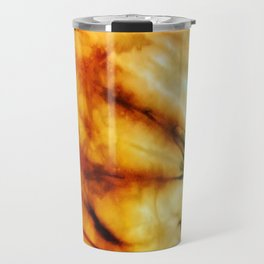 Green Tie Dye Travel Mug