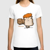 bread T-shirts featuring Ginger Bread by BinaryGod.com