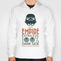 propaganda Hoodies featuring Star Wars Empire Propaganda by Costantino Gallo