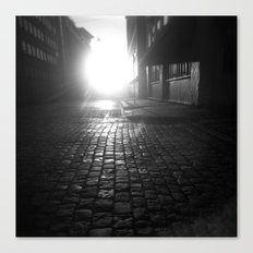 Late night, early morning Canvas Print