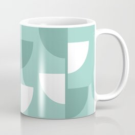 Pastel Green Slices in The Summer Shade Coffee Mug