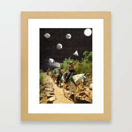 Weird Shit In Da Sky Framed Art Print