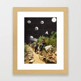 Weird Shit In Da Sky Framed Art Print
