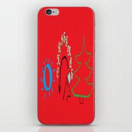 American Sign Language O Christmas Tree iPhone Skin