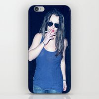 britney spears iPhone & iPod Skins featuring Britney Spears Smoking by KBK24