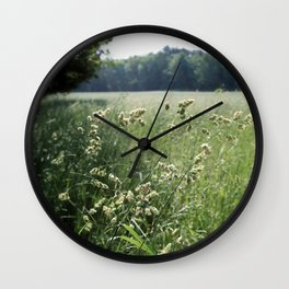 Come, Take a Walk with Me Wall Clock