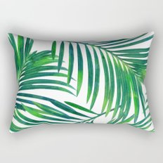 Palm Paradise #society6 #decor #buyart Rectangular Pillow