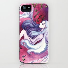 Sinking in My Own Blood iPhone Case