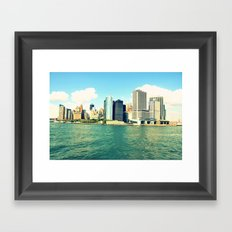 MET Framed Art Print