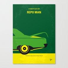 No478 My Repo Man minimal movie poster Canvas Print
