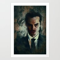 moriarty Art Prints featuring Moriarty by Sirenphotos