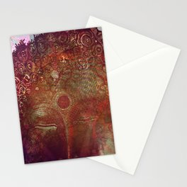 Blasphemous Buddha Stationery Cards