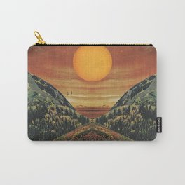 Sunset vibes Carry-All Pouch