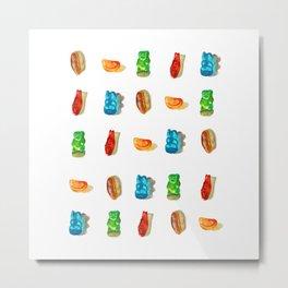 Gummies 2 Metal Print