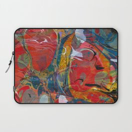 Abstract Painting ; Sunspot Laptop Sleeve