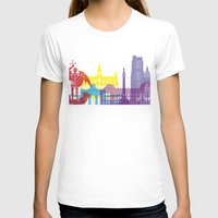 brussels T-shirts featuring Brussels skyline pop by Paulrommer