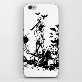 Famous also Fade iPhone Skin
