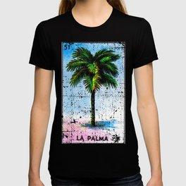 La Palma Mexican Loteria Bingo Card T-shirt