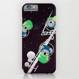 Space Koalas iPhone Case