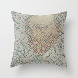 Digital expressionism 015 Throw Pillow