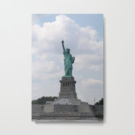 Statue of Liberty NYC Metal Print