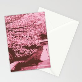 Sakura Monochrome Stationery Cards