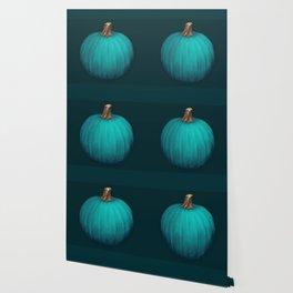 Teal Pumpkin Wallpaper