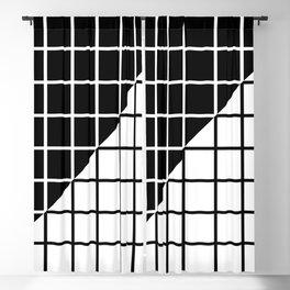 A E S T H E T I C (BLACK-WHITE) Blackout Curtain