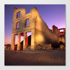 Night Time in Bodie Canvas Print