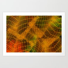 Abstract Texture 2014-12-13 Art Print