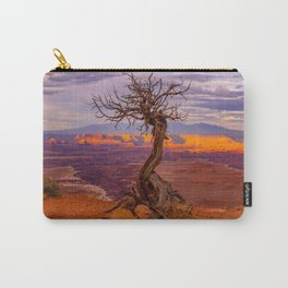 Canyonlands National Park Tree Panoramic Print Carry-All Pouch
