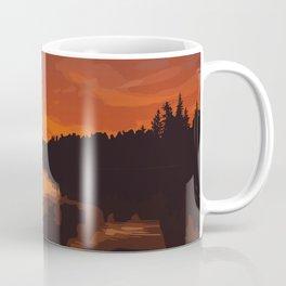 Nopiming Provincial Park Poster Coffee Mug