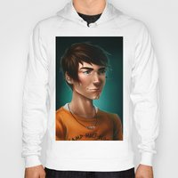 percy jackson Hoodies featuring Percy Jackson by spookzilla