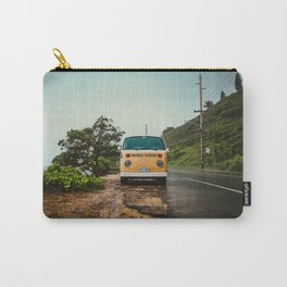 Vintage Island Bus Carry-All Pouch