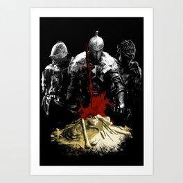 Nameless Accursed Undead Art Print
