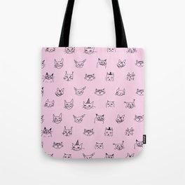 Crazy Cats! Tote Bag