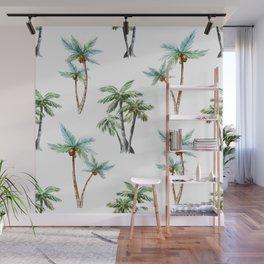 Palm Tree Pattern 01 Wall Mural